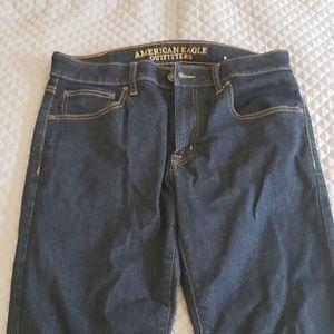 AE Men's slim straight jean